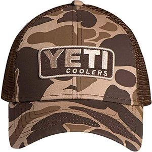 YETI Camo Adjustable Trucker's Hat